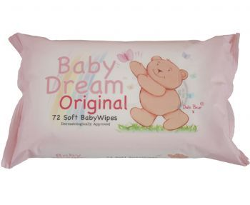 Baby Dream 72 Soft Baby Wipes