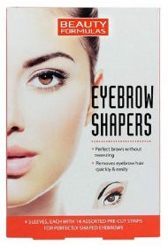 Beauty Formulas Eyebrow Shapers