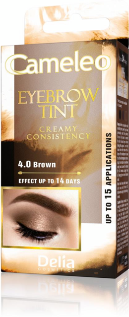 Cameleo Eyebrow Tint Brown 4.0