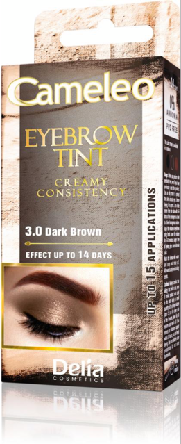 Cameleo Eyebrow Tint Dark Brown 3.0