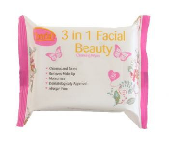 Cherish 3 in 1 Facial Cleansing Wipes