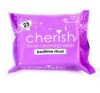 Cherish Bedtime Ritual Facial Cleansing Wipes