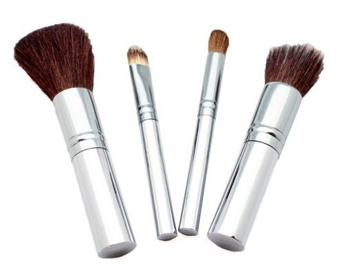 Chique 4 Mineral Piece Brush Set