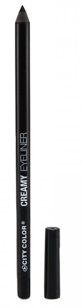 City Color Cream Eyeliner Pencil Black