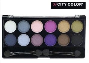 City Color Eyeshadow Palette Smokey