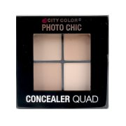 City Color Photo Chic Concealer Quad Light