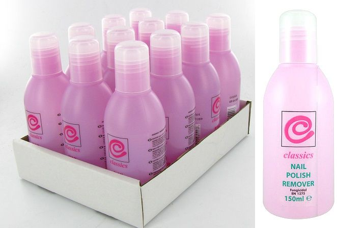 Classics Nails Polish Remover 150ml 1x12