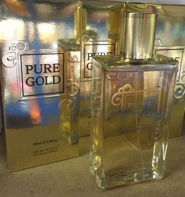 D&M Fragrance Aftershave Pure Gold 100ml EDT