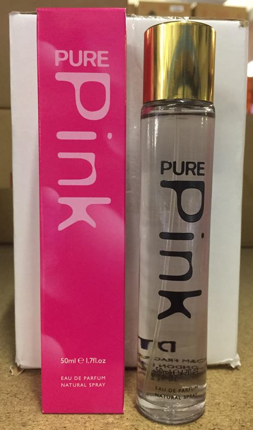 D&M Fragrance Perfume Pure Pink 50ml EDP