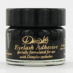 Dimples Eyelash Glue Pot Black