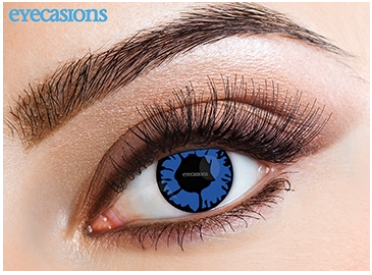 Eyecasions Contact Lenses Blue Flame Daily