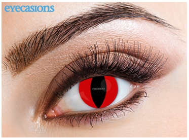 Eyecasions Contact Lenses Red Cat Daily