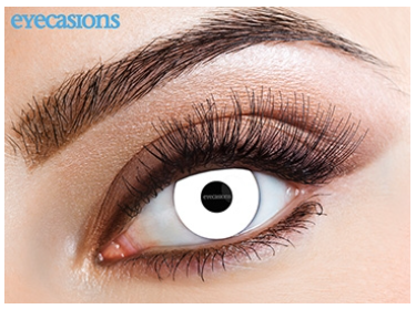 Eyecasions Contact Lenses UV White Daily