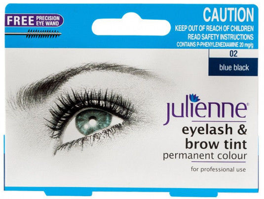 Julienne Eyelash & Brow Tint Blue
