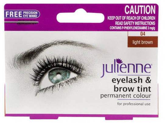 Julienne Eyelash & Brow Tint Light Brown