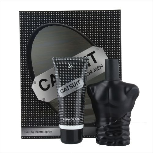 Lamis Aftershave Catsuit Mens 3 Piece Gift Set