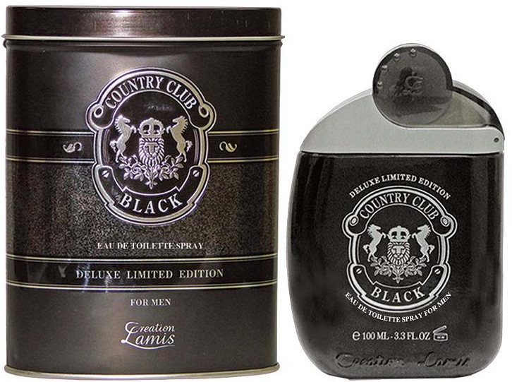 Lamis Deluxe Aftershave Country Club Black 100ml