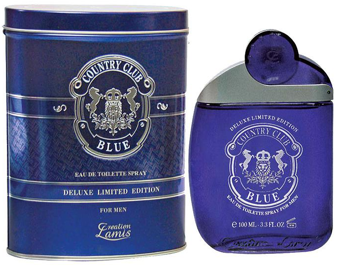 Lamis Deluxe Aftershave Country Club Blue EDT 100ml