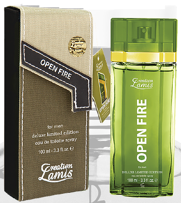 Lamis Deluxe Aftershave Open Fire Men 100ml EDT