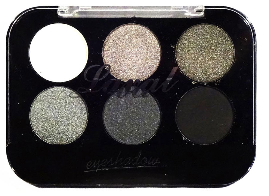 Laval Eyeshadow Palette Grey 6 Piece