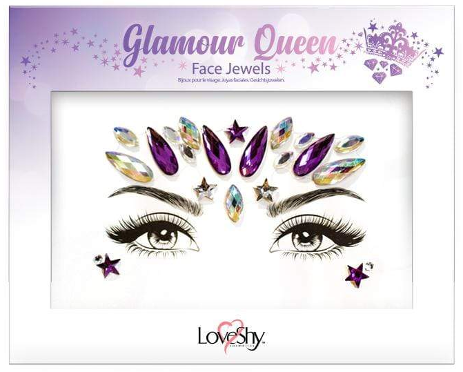 LoveShy Face Jewels Glamour Queen