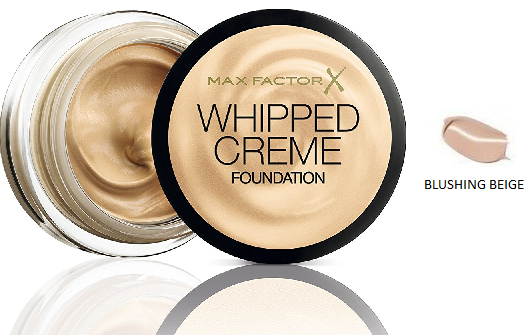 Max Factor Whipped Crème Foundation Blushing Beige