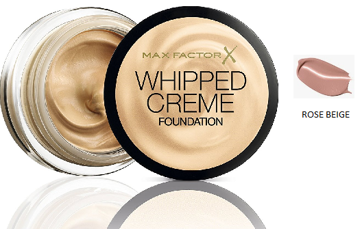 Max Factor Whipped Crème Foundation Rose Beige