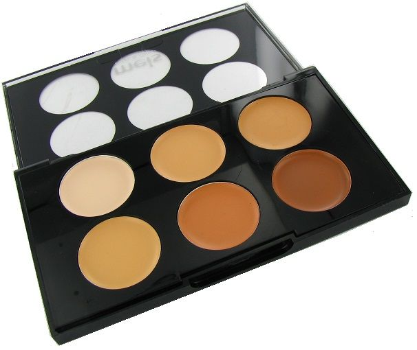 MEIS Corrector & Concealer Face Touch Up Palette No. 2
