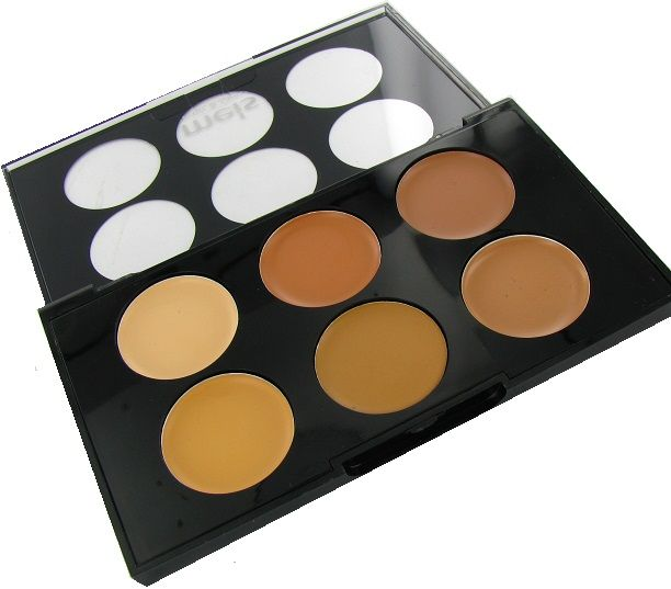 MEIS Corrector & Concealer Face Touch Up Palette No. 3