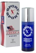 Milton Lloyd Fragrance America Sport 50ml EDT Mens