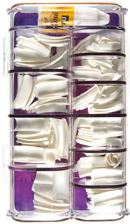 Nail Magic 200 Nail Tips White