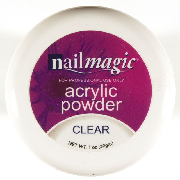 Nail Magic Acrylic Powder Clear