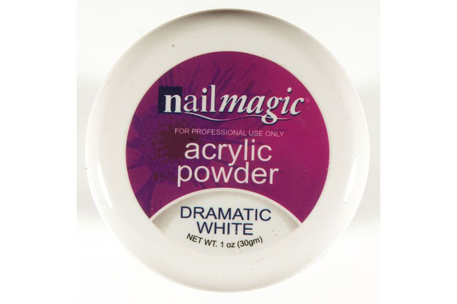 Nail Magic Acrylic Powder Dramatic White