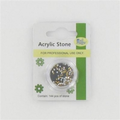 Nail Magic Acrylic Stones Golden