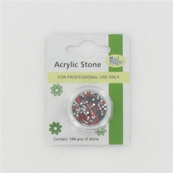 Nail Magic Acrylic Stones Red