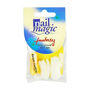 Nail Magic Nail Tips Fantasy Long Curved  1x24