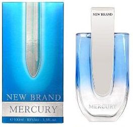 New Brand Aftershave Mercury EDT Spray 100ml