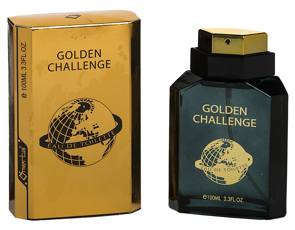 Omerta Mens Aftershave Golden Challenge 100ml EDT