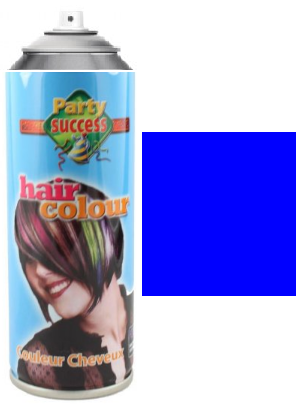 Party Success Colour Hairspray Blue