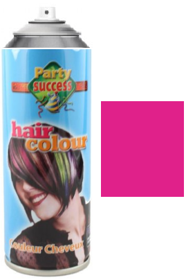 Party Success Colour Hairspray Pink