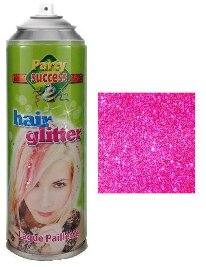 Party Success Glitter Hairspray Pink