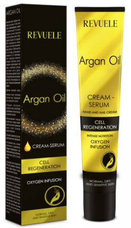 Revuele Argan Oil Serum Cream For Hands And Nails
