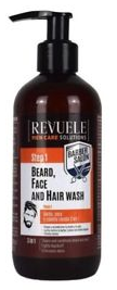 Revuele Barber Salon Beard, Face And Hair Wash 3in1 300ml