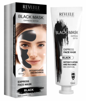 Revuele Black Mask Instant Action