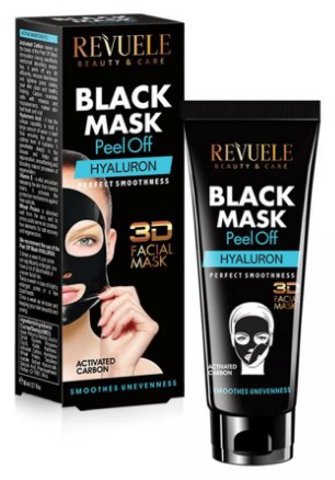Revuele Black Mask Peel Off Hyaluron Perfect Smoothness