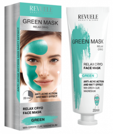 Revuele Green Mask Relaxing Cryo