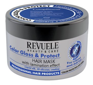 Revuele Hair Mask Colour Gloss & Protect 500ml