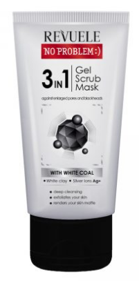 Revuele No Problem 3 In 1 Exfoliating Gel & Mask