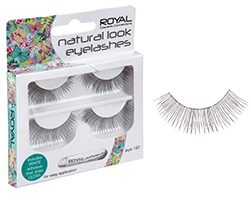 Royal Black Eyelashes 120 Natural Look