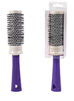 Royal Enhance Pearlised Thermal Radial Hair Brush